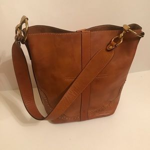 Sample Sale Find - NWOT Frye Leather Shoulder Bag